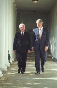 Rabin and Clinton